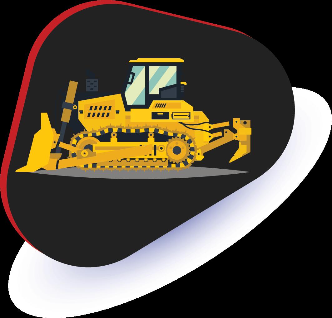 jasa pengiriman bulldozer