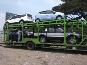 Jasa pengiriman mobil via car carrier