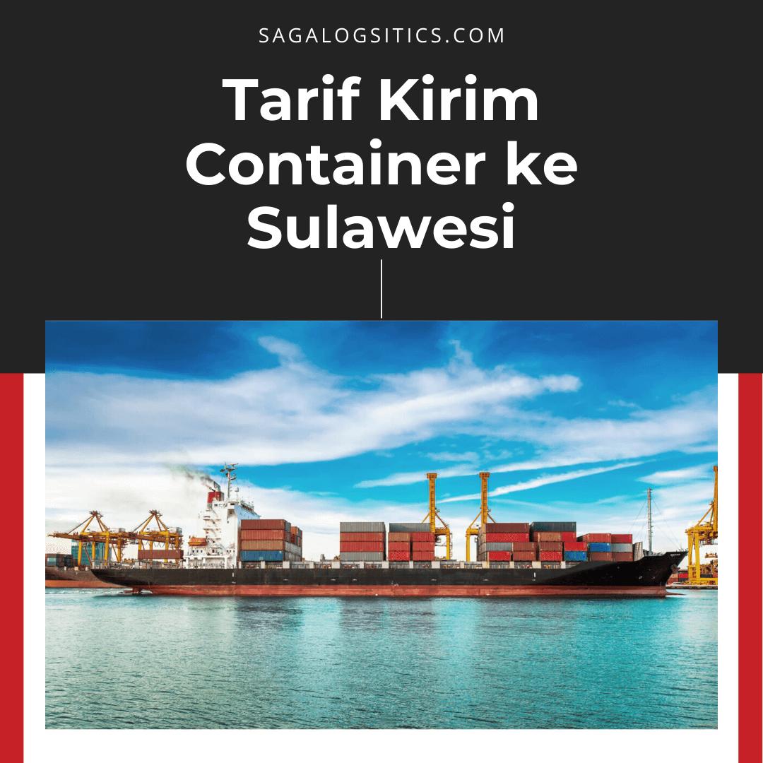 ongkos kirim container ke sulawesi